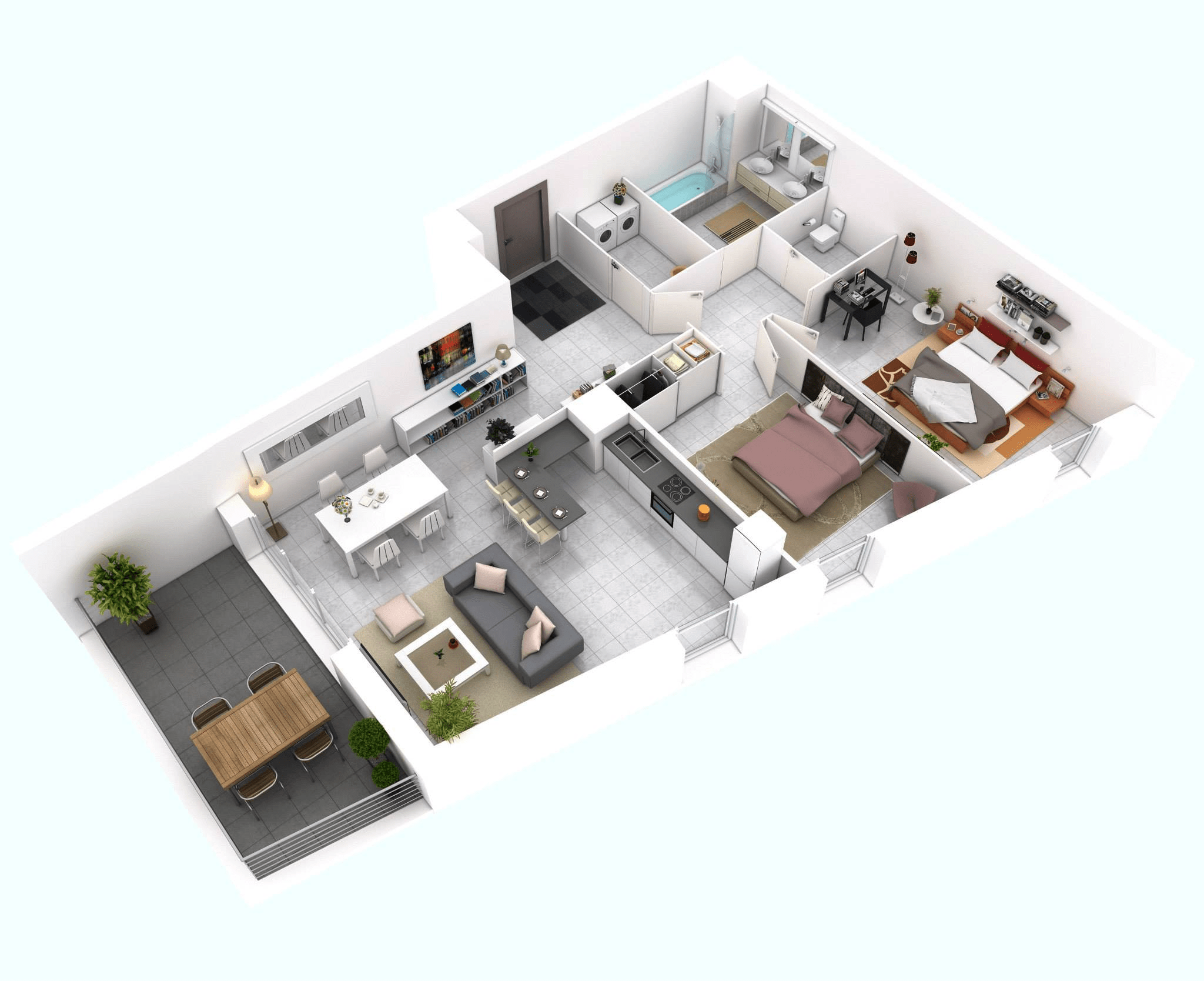 bedroom floor plans house layout row house layout modern house plan modern house plan