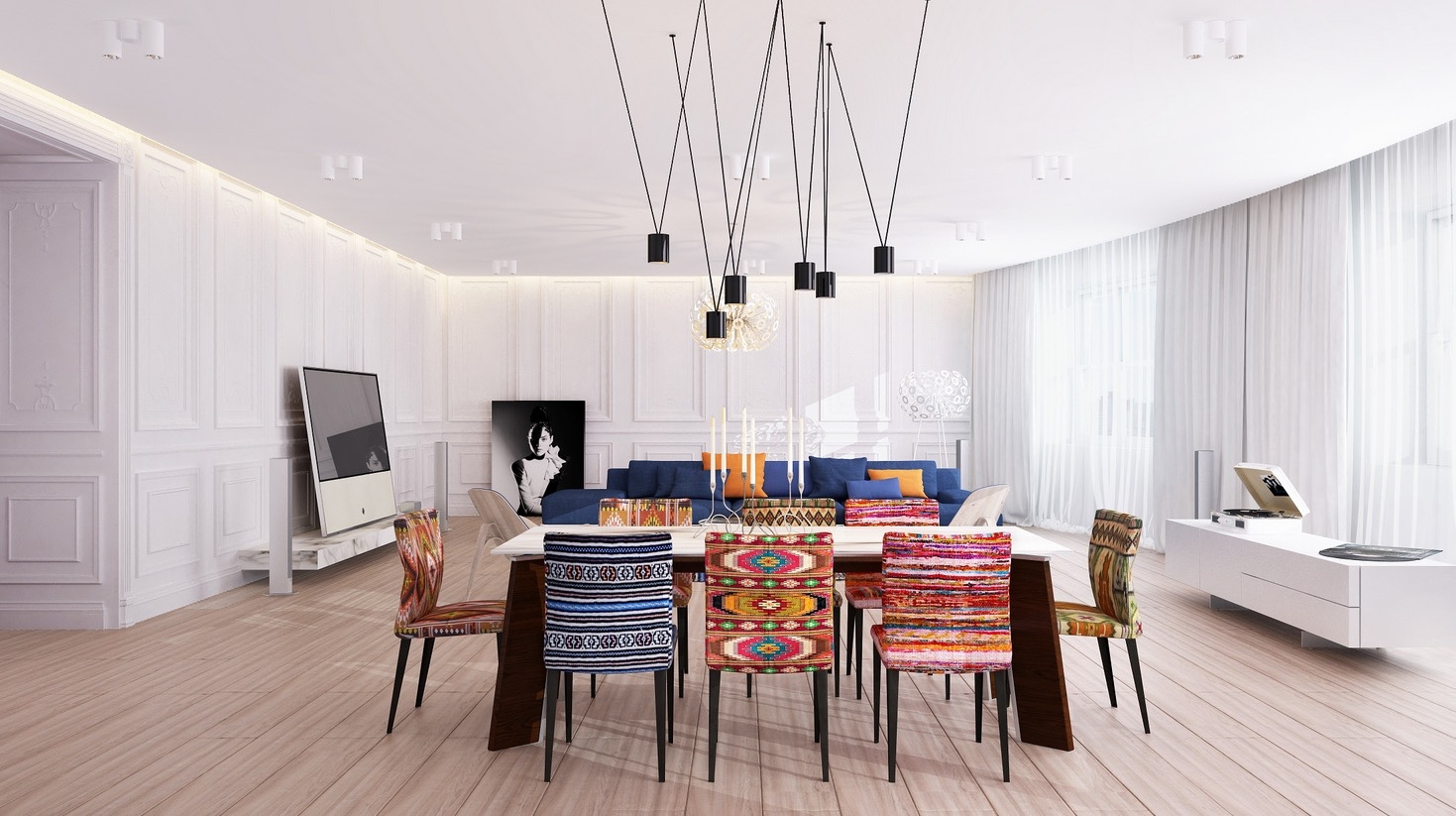 Bunte Esszimmerstühle 20 Modern Dining Rooms For Inspiration