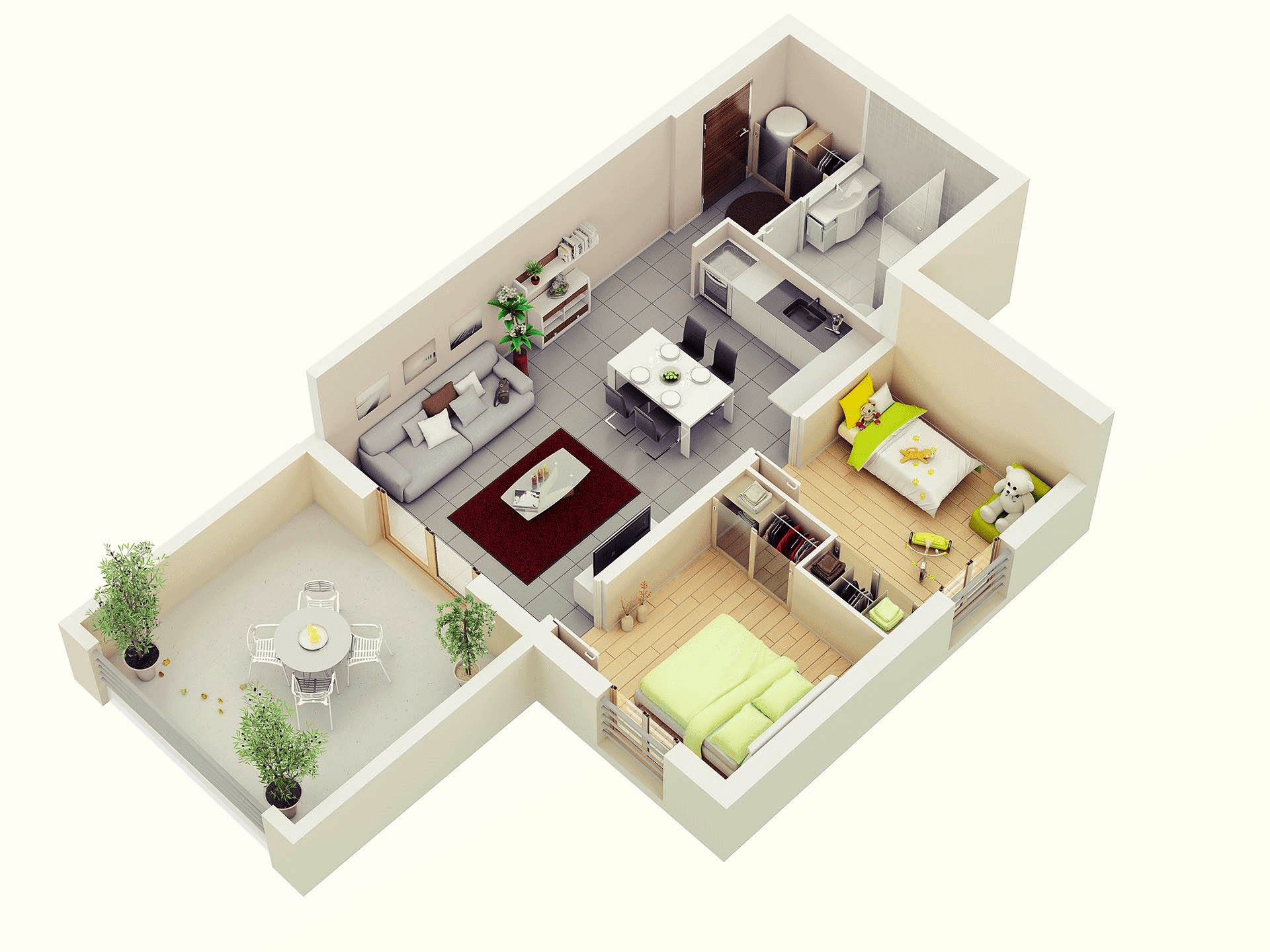 open floor plan common areas apartment home design layout part