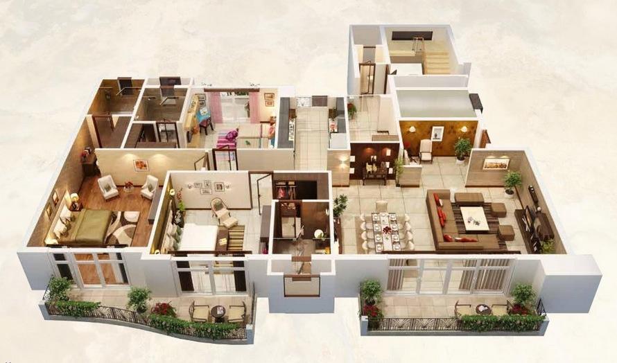 bedrooms multiple patios huge living room bedrooms compact dream house bedroom iroonie