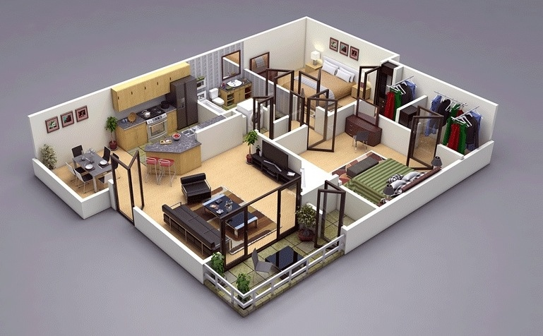 Pallavi Jaswal (jaswalpallavi) on Pinterest - Apartment House Plans