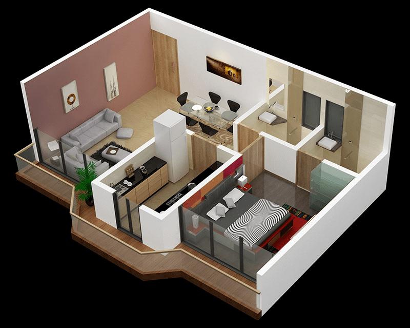 bedroom design living area separate bedroom bedroom apartment house plans