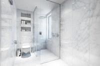 white-marble-bathroom   Interior Design Ideas.