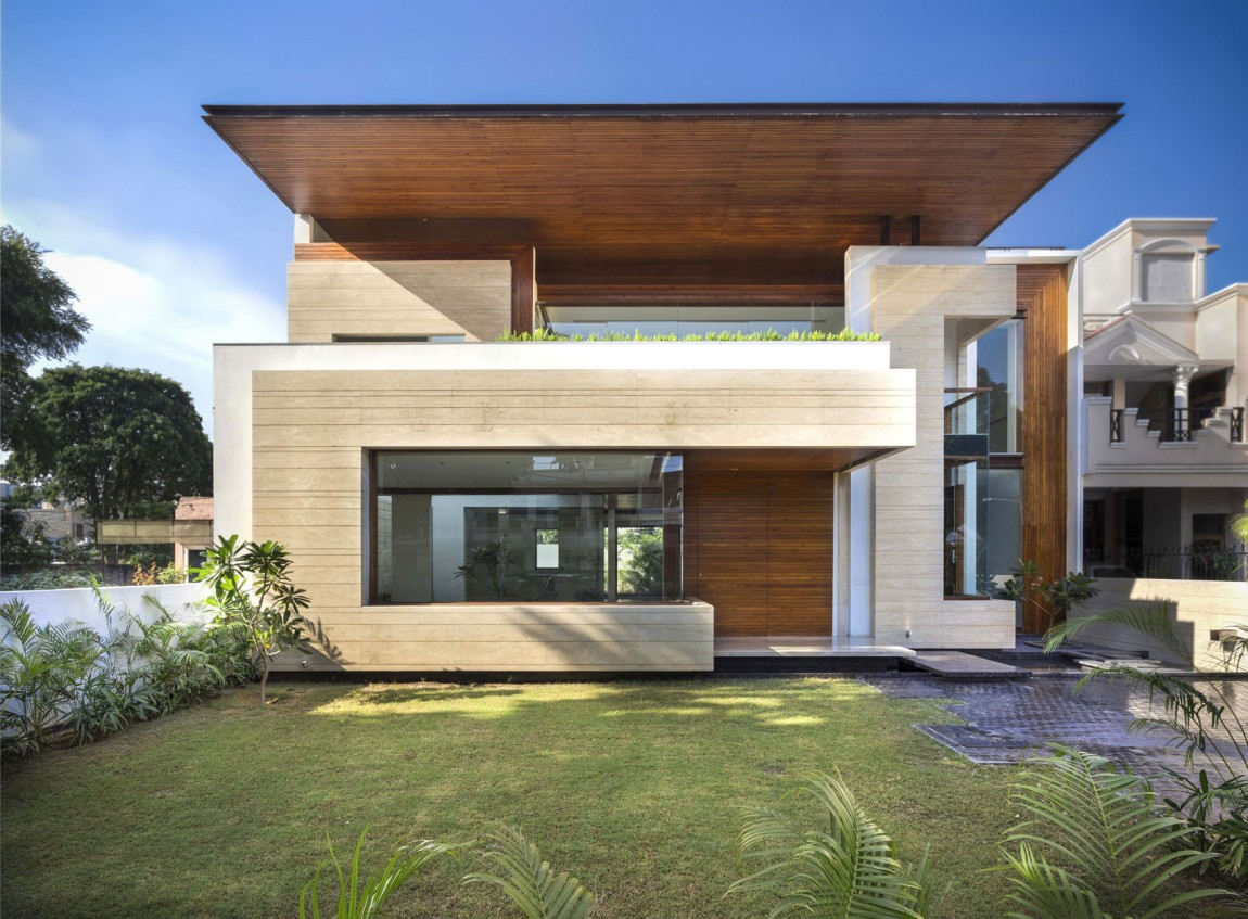 Home Design Of India A Sleek Modern Home With Indian Sensibilities And An Interior