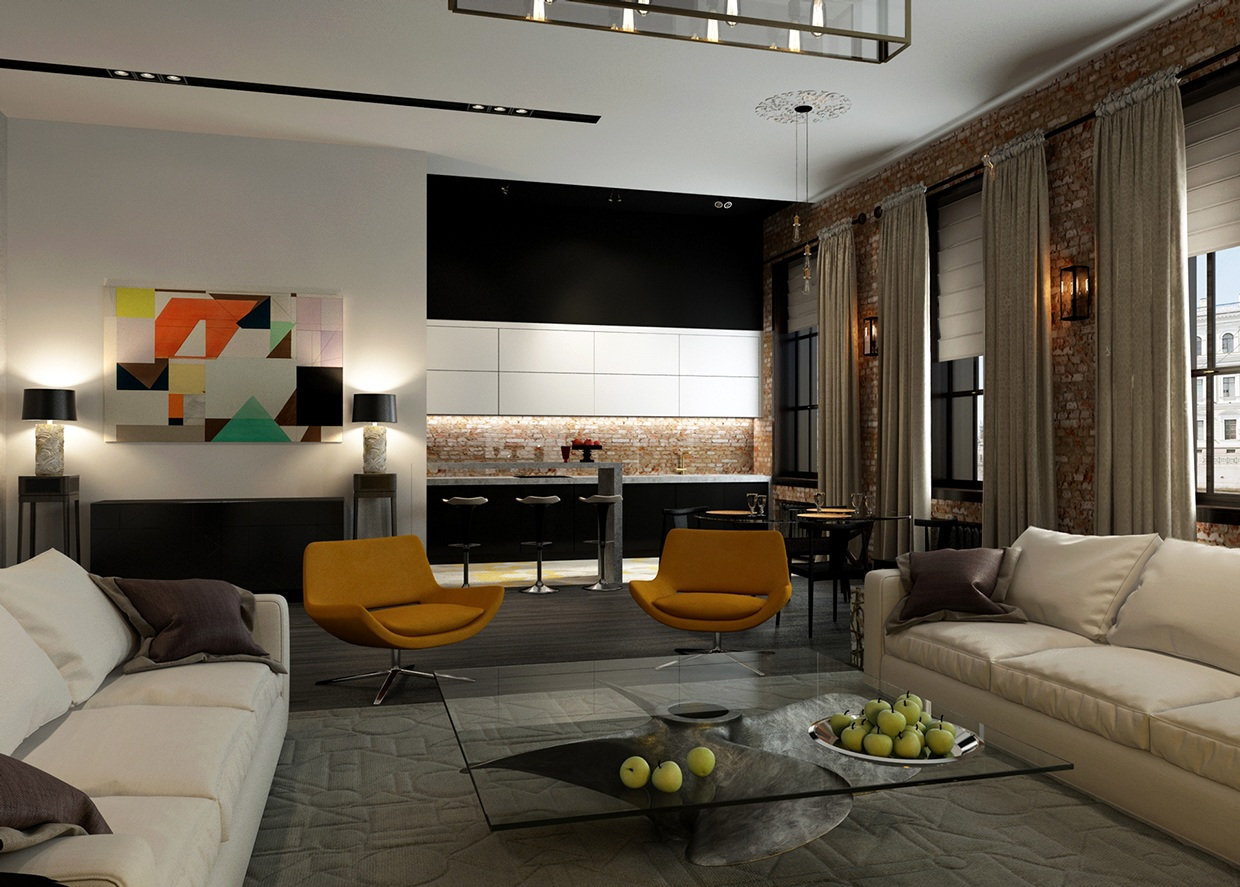 Modern Decor 3 Ideas For A 2 Bedroom Home Includes Floor Plans