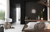 rustic-modern-bedroom   Interior Design Ideas.