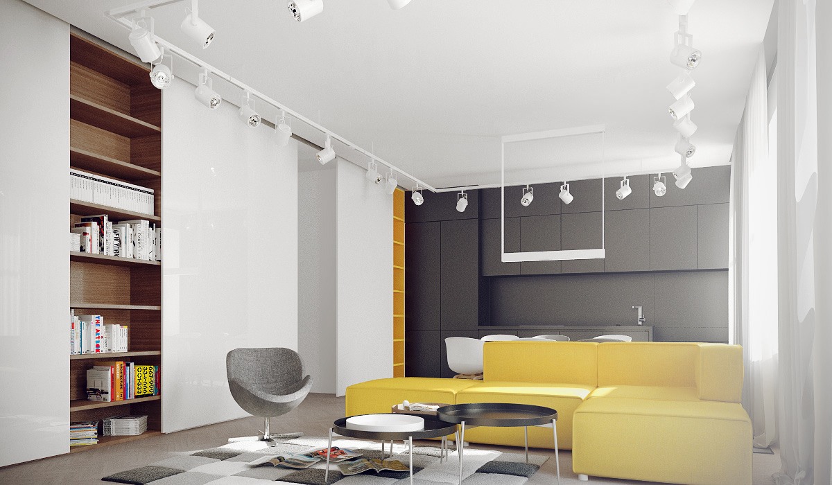 Designer Sofa Toronto Mellow Yellow: 7 Soothing Apartments With Sunny Accents