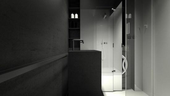 black-pedastel-sink