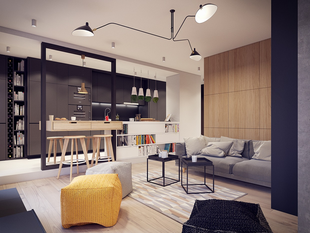 Badezimmer Interior Design Inspiration A 60s-inspired Apartment With A Creative Layout And Upbeat