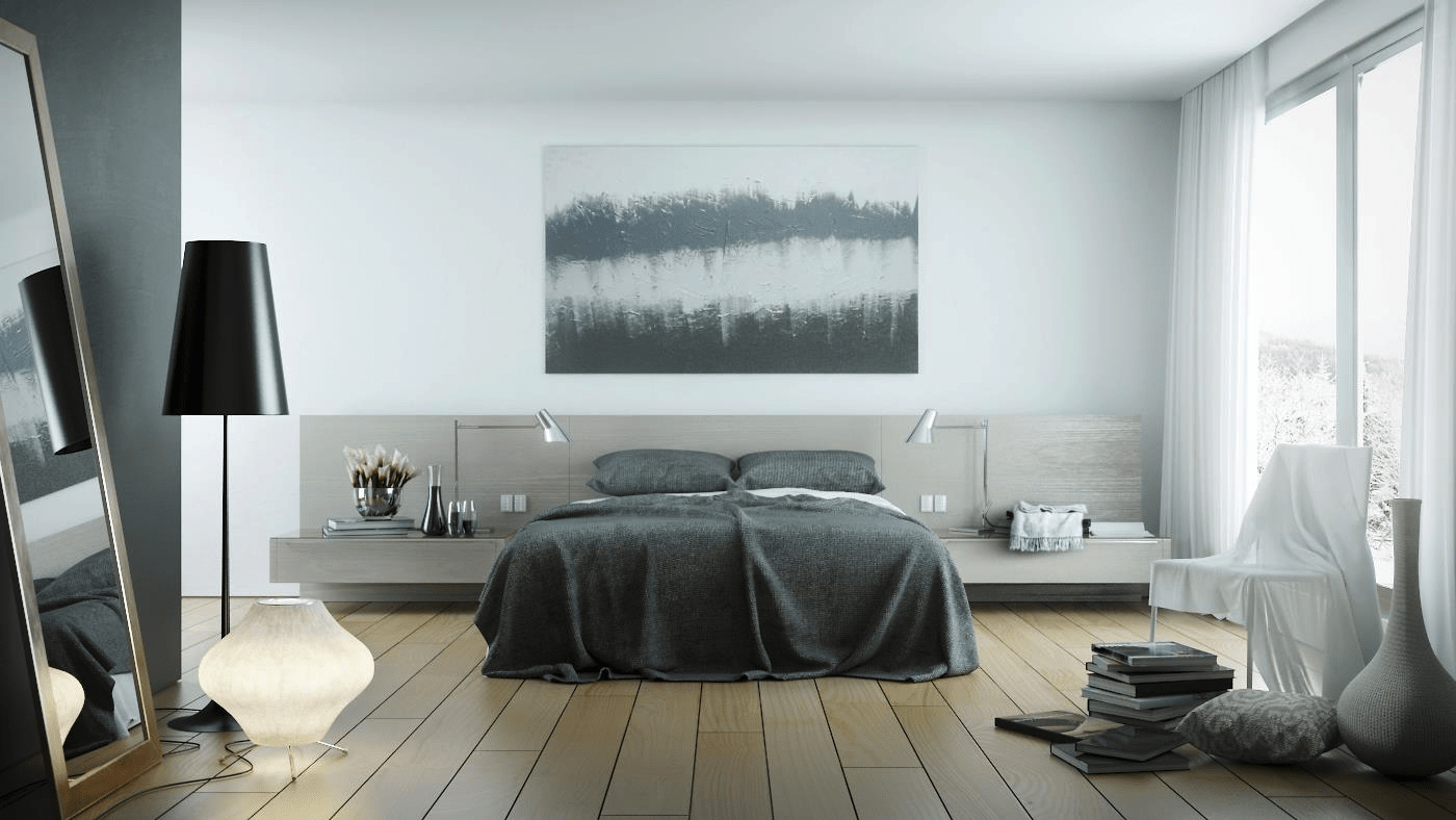 Bedroom Inspiration Grey Bed Gray Bedroom Interior Design Ideas