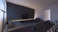 grey-accent-wall | Interior Design Ideas.