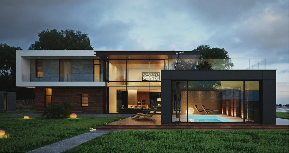 modern box home design interior design ideas september kerala home design floor plans
