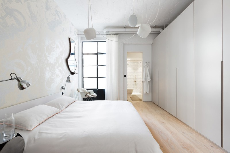 Ikea Bed Achterwand Converted Industrial Space Becomes A Pretty, Sunny Apartment