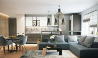 Classy Studios with Subtle, Stylish Accents