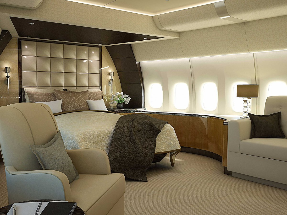 Airplane Bedrooms Private Airplane Bedroom Interior Design Ideas