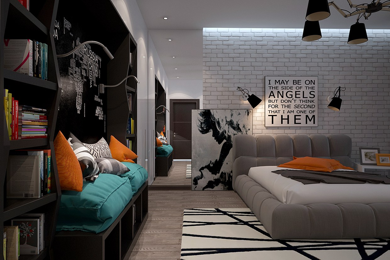 Funky Bedroom Ideas Funky Rooms That Creative Teens Would Love