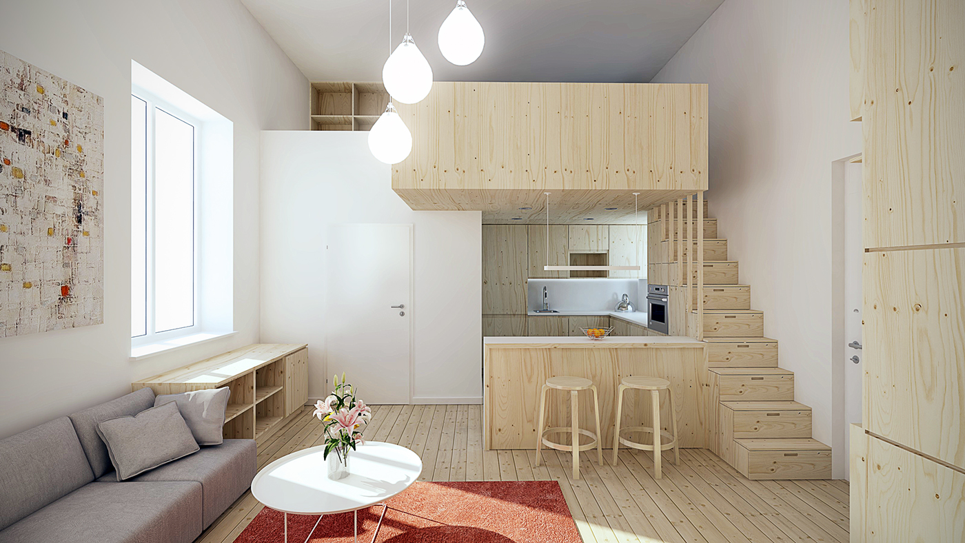 Super Small Kitchen Designing For Super Small Spaces 5 Micro Apartments
