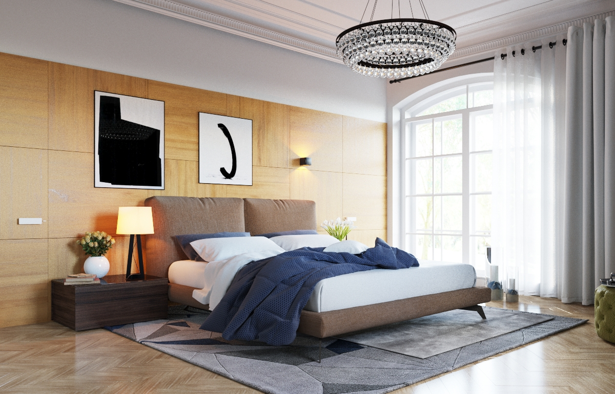 Bedroom Paneling 3 Examples Of Modern Simplicity