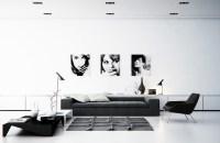 black-and-white-living-room | Interior Design Ideas.
