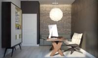 brick-accent-wall   Interior Design Ideas.