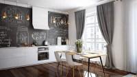 dining-room-chalkboard-wall | Interior Design Ideas.