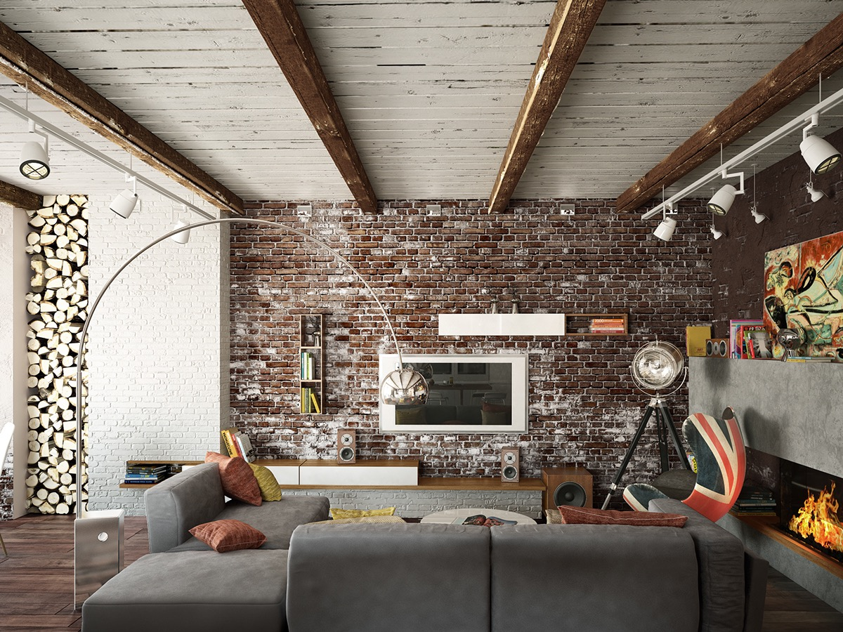 Interior Brick Wall Design Ideas Exposed Brick Wall Interior Design Ideas