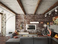 exposed-brick-wall | Interior Design Ideas.