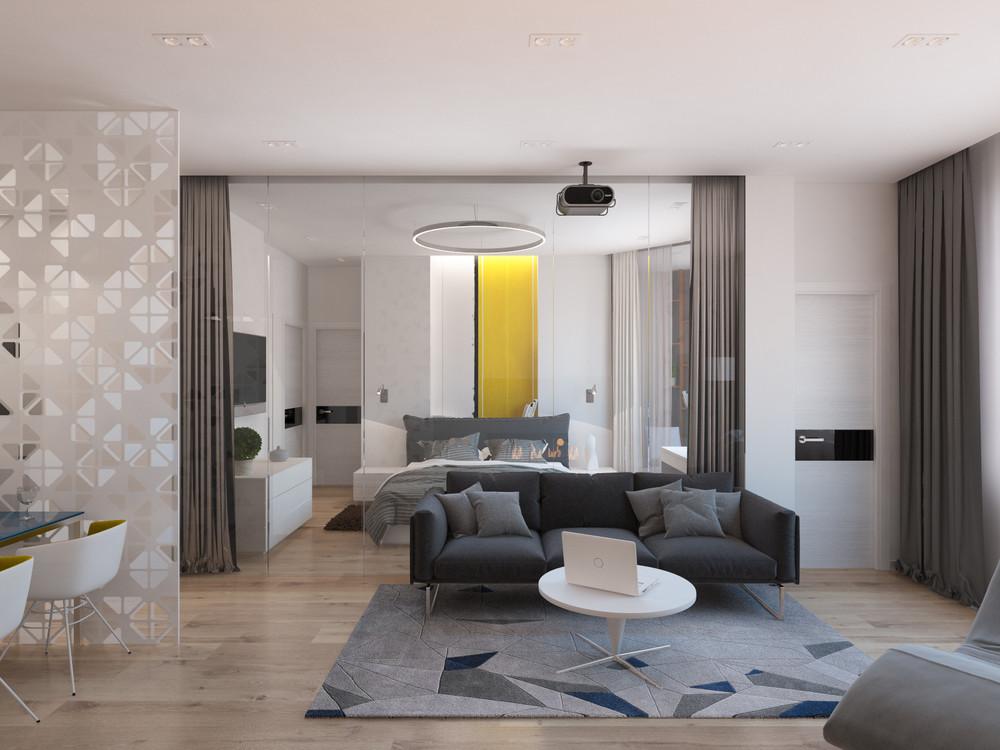 geometric-grey-area-rug Interior Design Ideas - grey living room rug