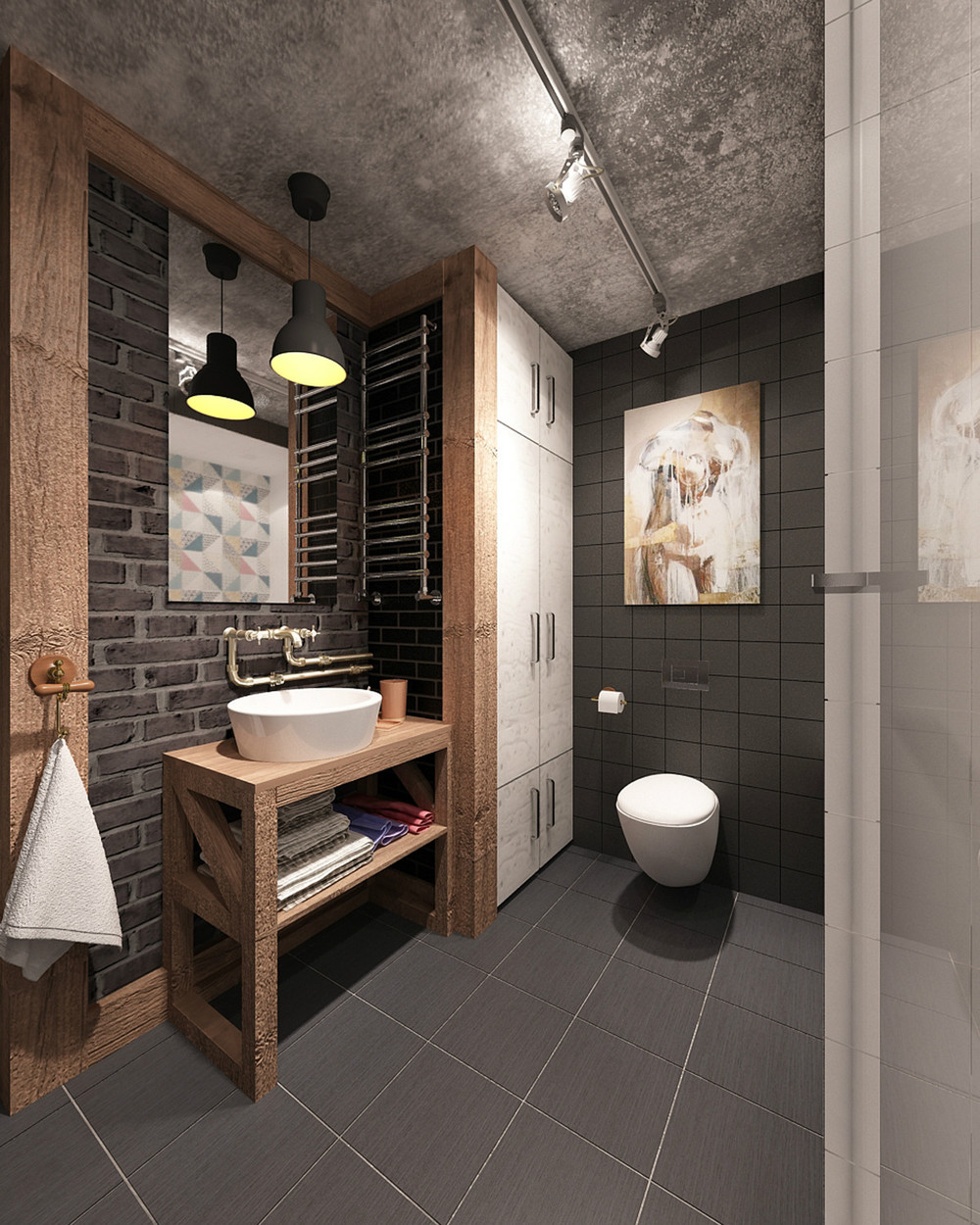 Design Dusche 4 Small & Beautiful Apartments Under 50 Square Meters
