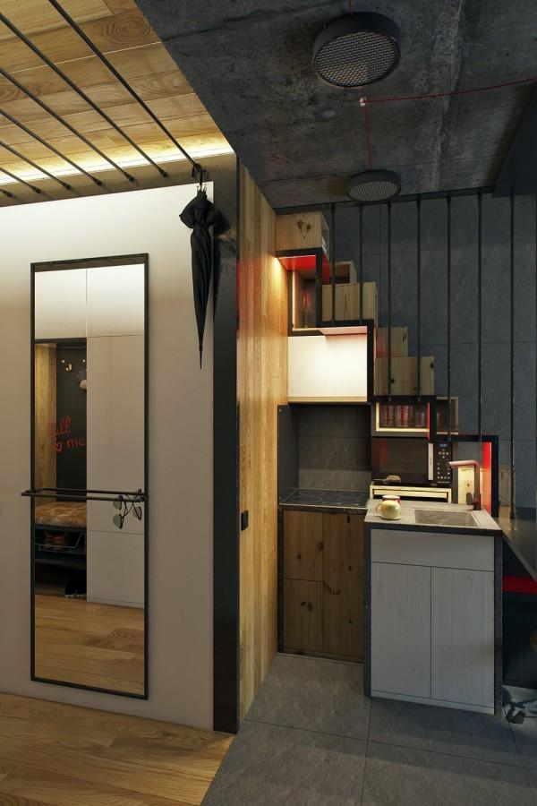 tiny apartment square meter area square feet measure perimeter house exterior wall