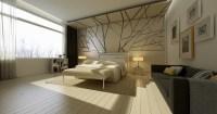bedroom feature wall texture | Interior Design Ideas.
