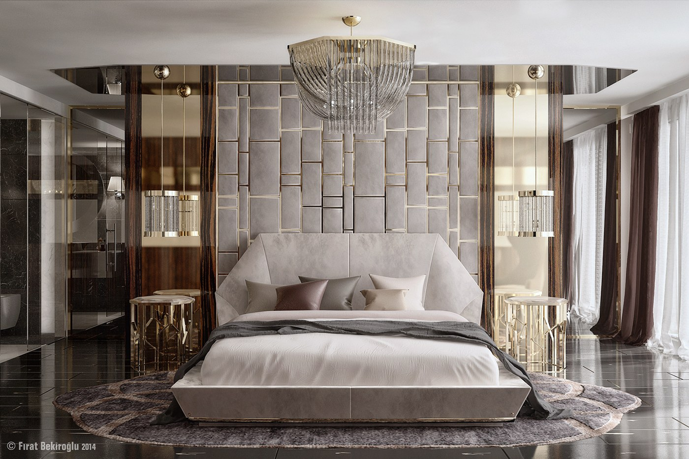Glamorous Bedrooms Ideas 7 Stylish Bedrooms With Lots Of Detail