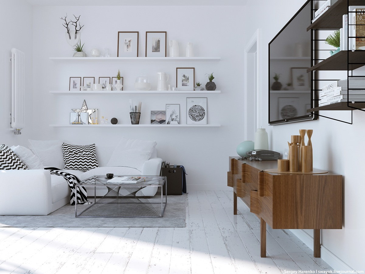 Scandi Style 3 Beautiful Scandinavian Style Interiors