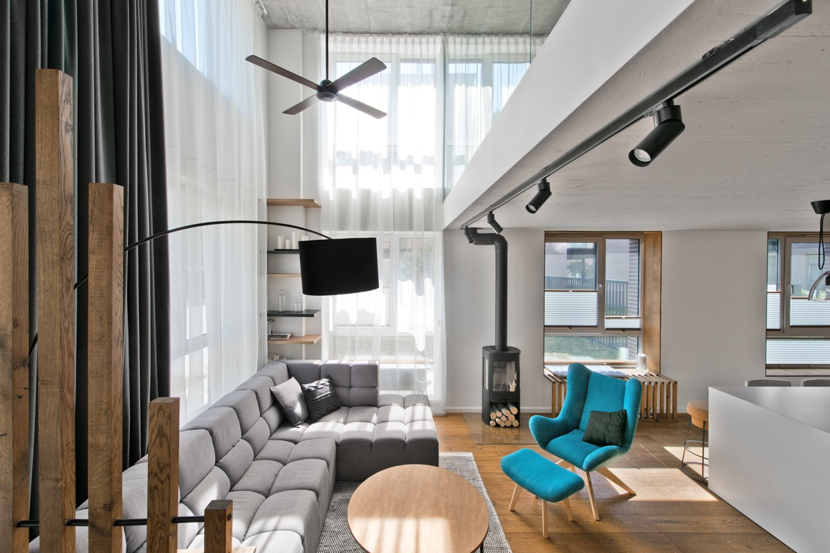Loft Amenagement Interieur Chic Scandinavian Loft Interior