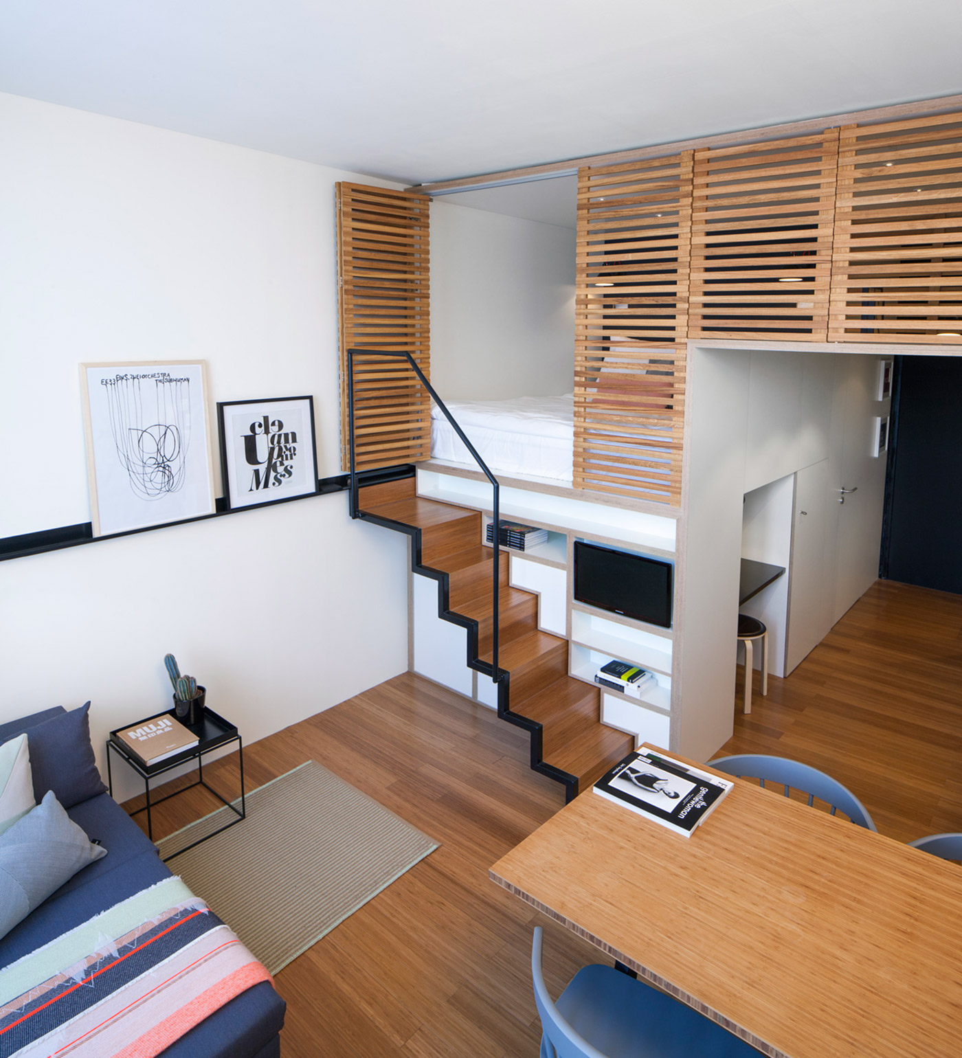 Micro Studio Apartments 4 Awesome Small Studio Apartments With Lofted Beds