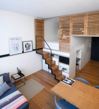 4 Awesome Small Studio Apartments With Lofted Beds
