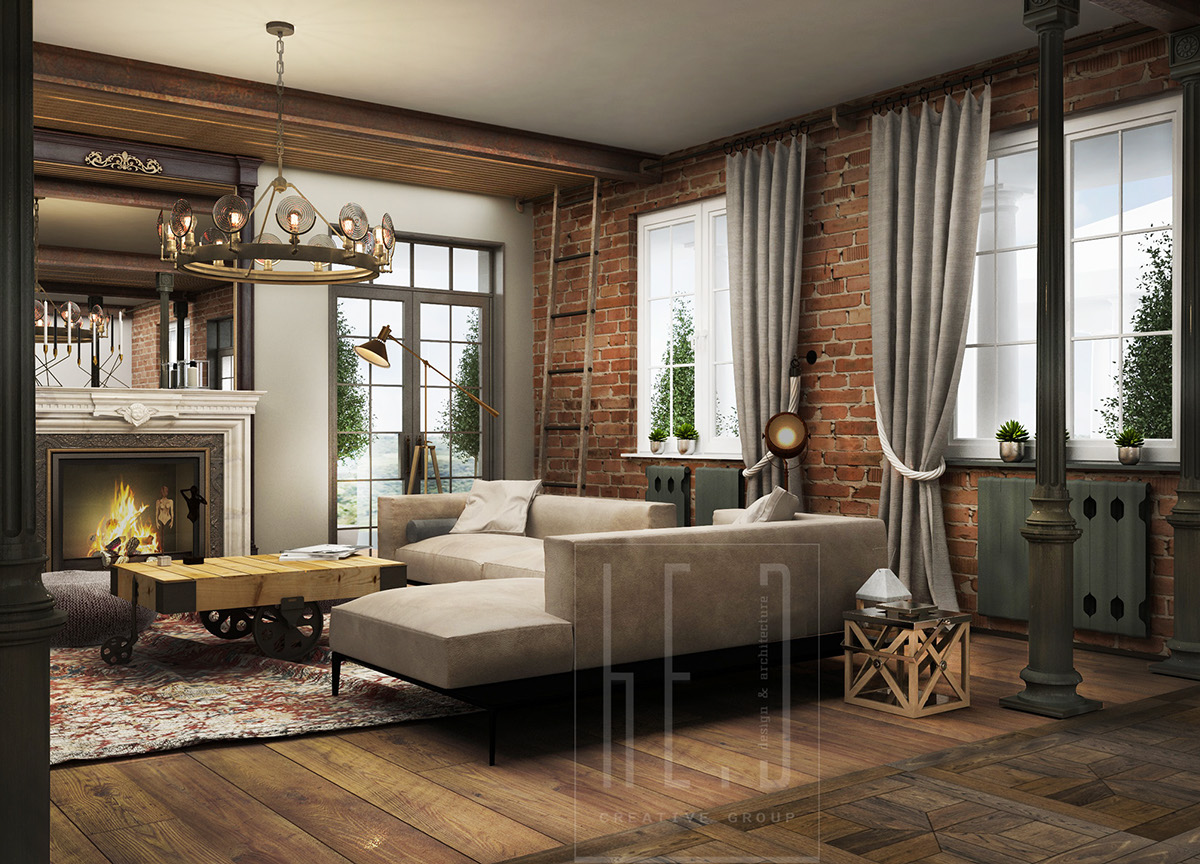Interior Dec 3 Stunning Homes With Exposed Brick Accent Walls