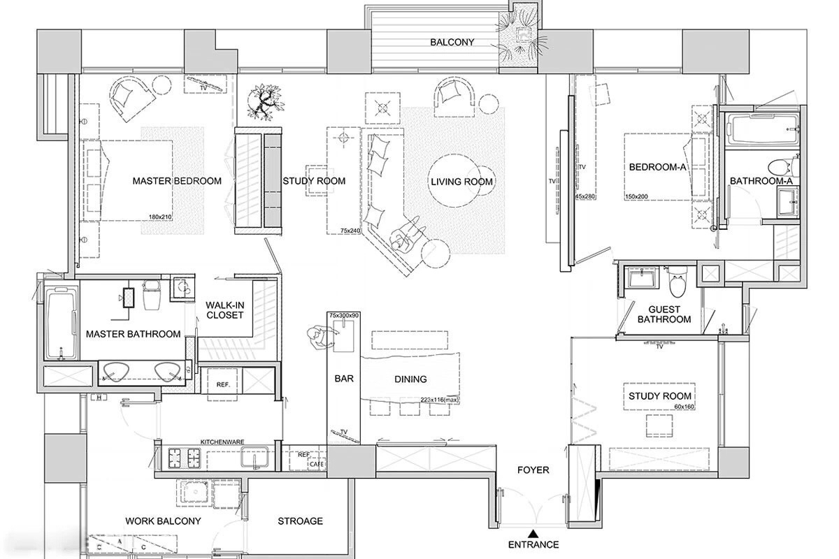 Modern Homes Floorplans Asian Interior Design Trends In Two Modern Homes With
