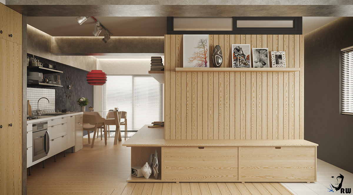Dividers For Studio Apartment 5 Small Studio Apartments With Beautiful Design