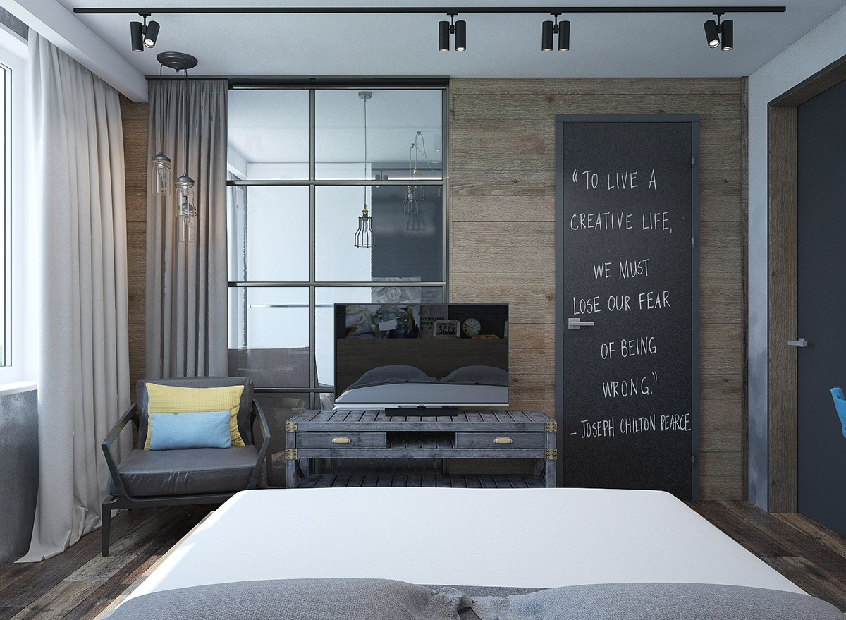 Schlafzimmer Kreativ 6 Creative Bedrooms With Artwork And Diverse Textures