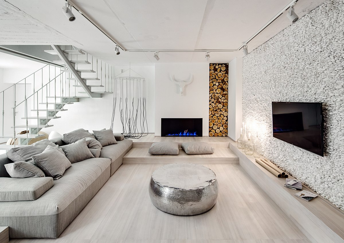 Organic Modern Design A Bright White Home With Organic Details