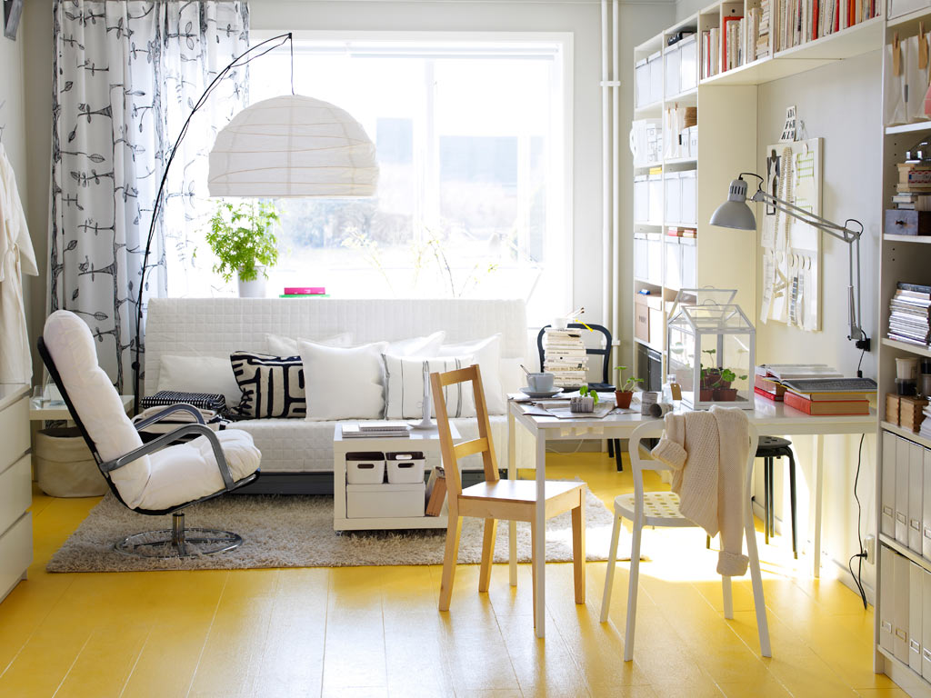 Bright Floor Light 25 Gorgeous Yellow Accent Living Rooms
