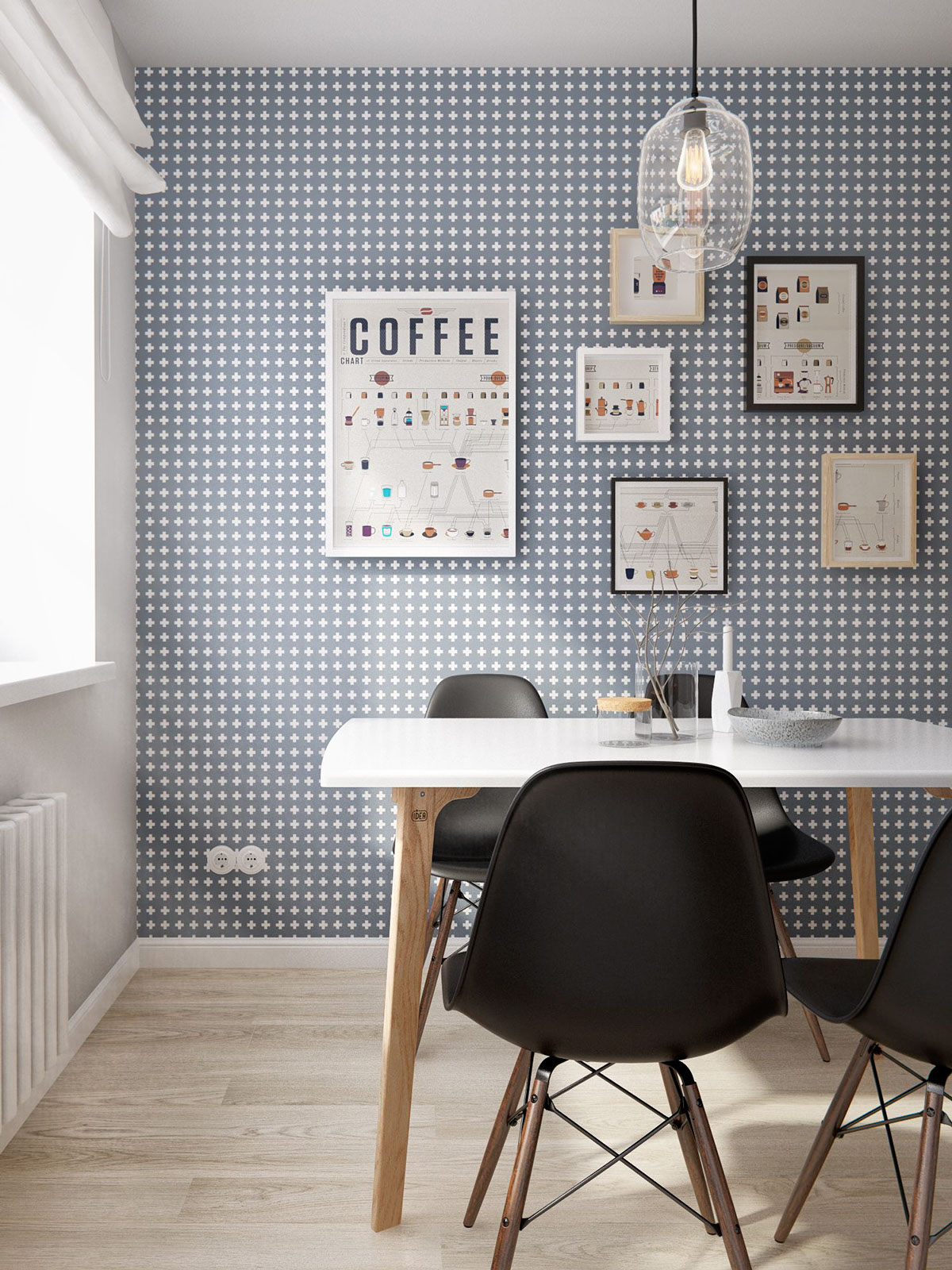 Papier Peint Ikea 32 More Stunning Scandinavian Dining Rooms