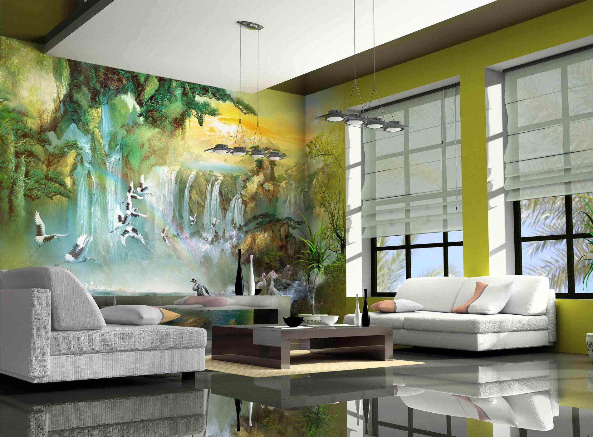 Wall Mural Ideas For Living Room Large Wall Art For Living Rooms Ideas Inspiration