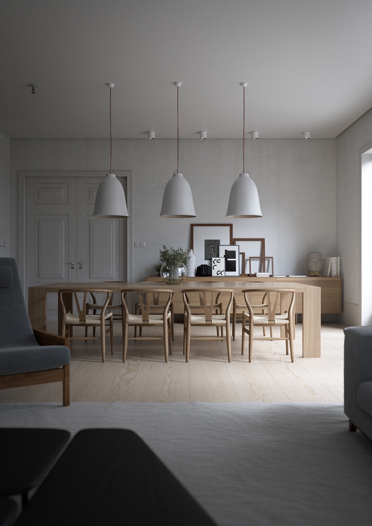 Unique Pendant Lighting 32 More Stunning Scandinavian Dining Rooms