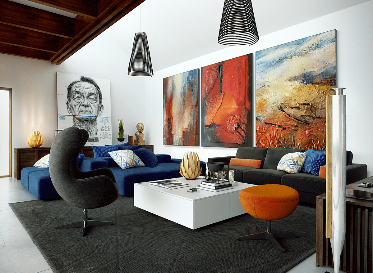 Oversized Modern Wall Art Large Wall Art For Living Rooms Ideas And Inspiration