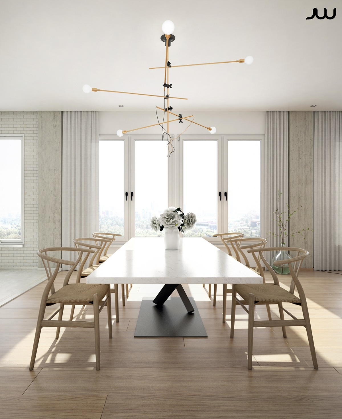 Luxurious Dining Rooms Ultra Luxury Apartment Design