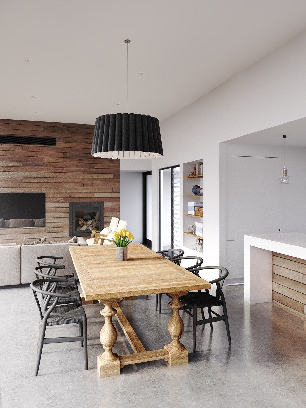 Modern Decor Dining Rooms That Mix Classic And Ultra Modern Decor