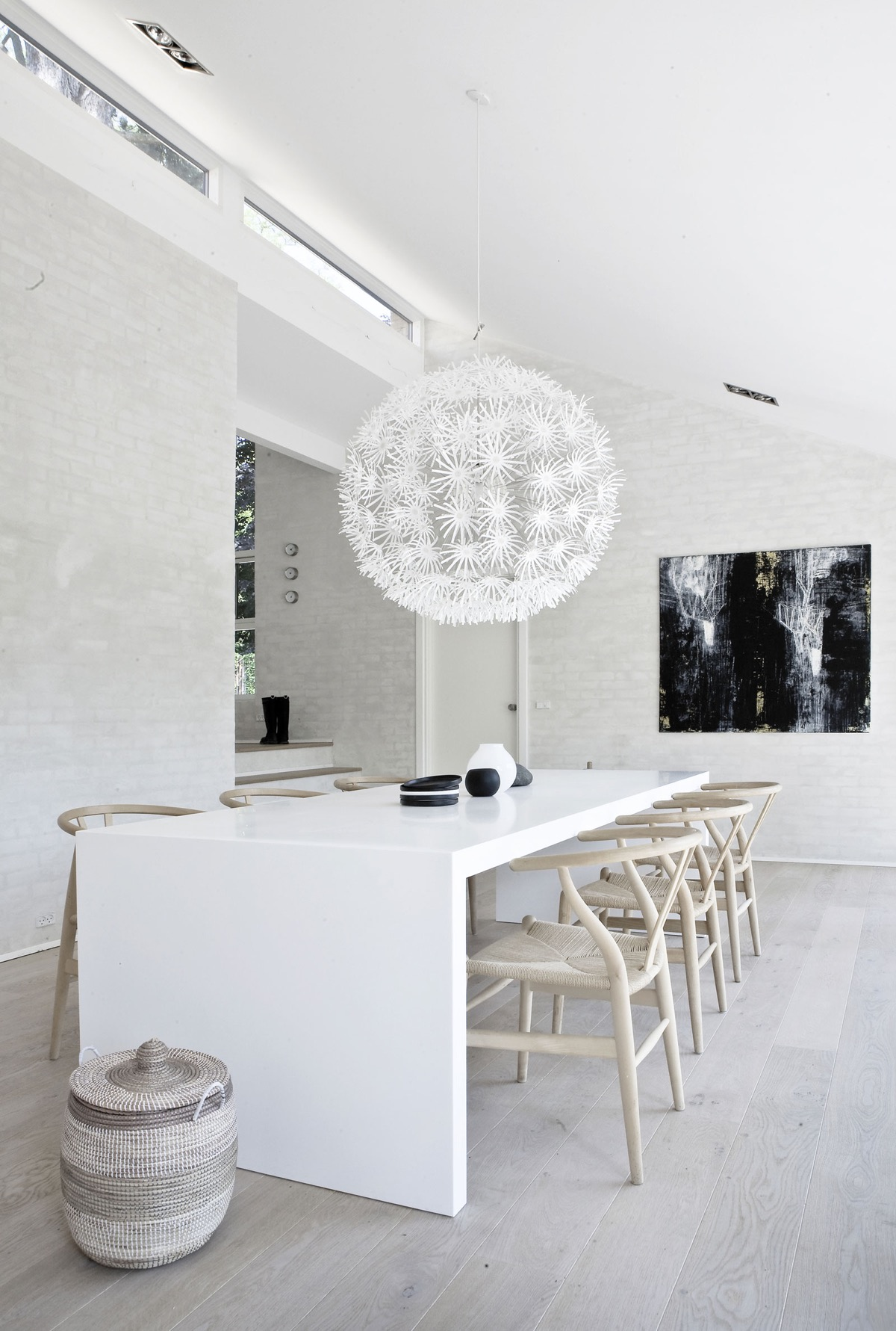 Chair Eames 32 More Stunning Scandinavian Dining Rooms