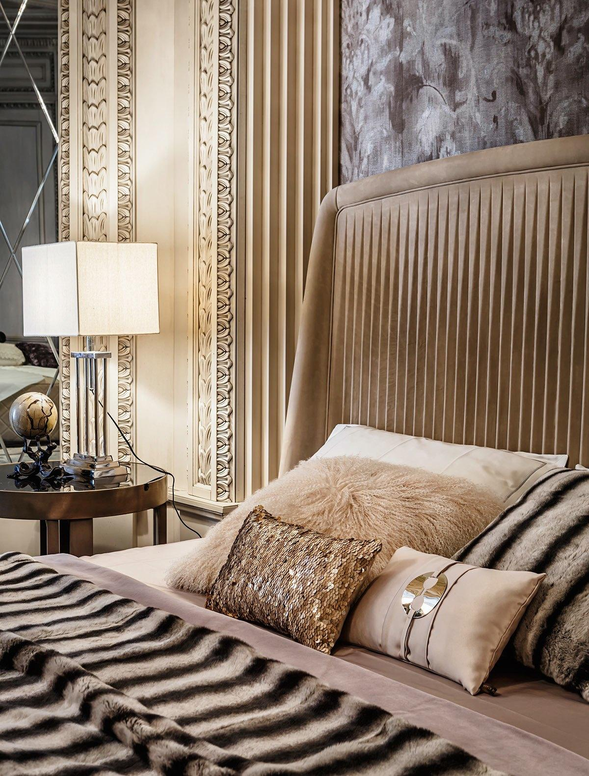 Art Deco Style Bedroom Neoclassical And Art Deco Features In Two Luxurious Interiors